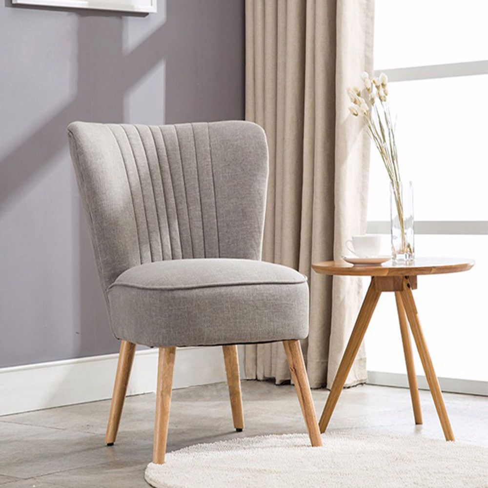 Modern Bedroom Grey Chair Armchair Occasional Upholstered Home Office Furniture Ebay Home Office Furniture Small Bedroom Armchair Chairs Armchairs