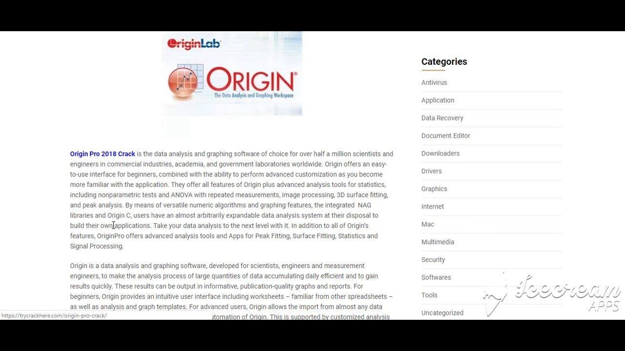 Origin Pro 2018 Crack + Keygen Free Download Full Version