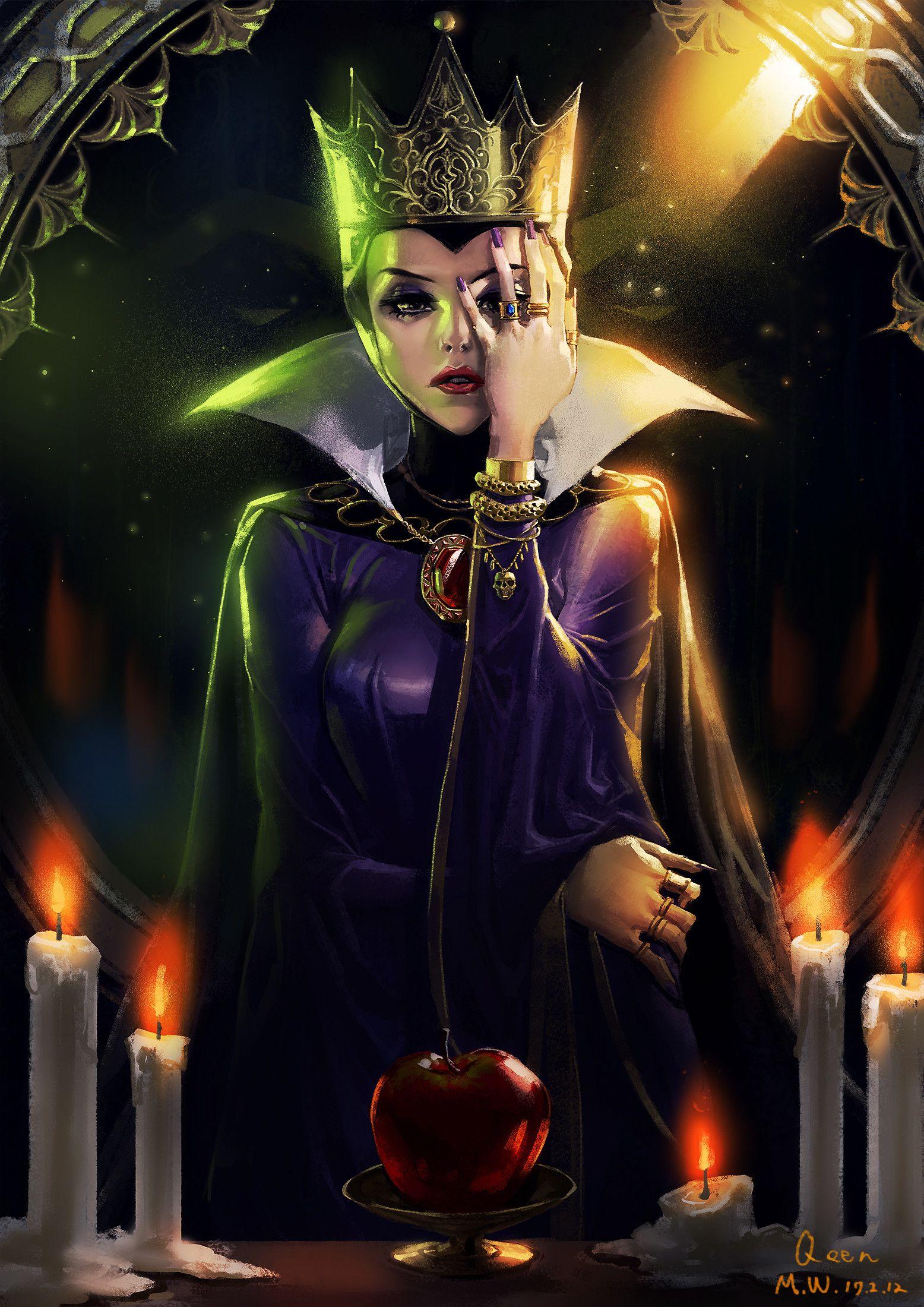 Evil Queen by Minwoo Kim | Disney evil queen, Disney ...Disney Evil Queen Art
