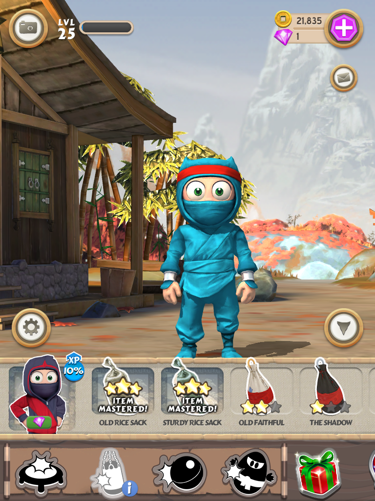 clumsy ninja unlimited gems and coins apk