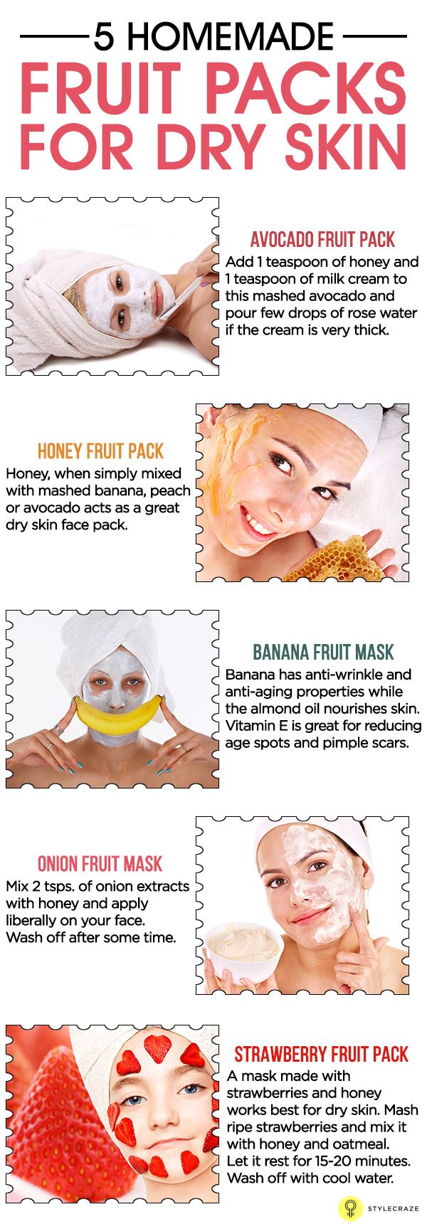 17 homemade face packs for dry skin | dry skin, facial and face masks