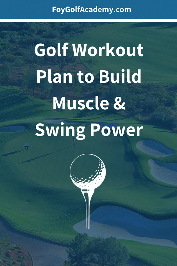 Best golf workouts, and fitness exercises to build power in your golf swing. Follow the 8 week worko...