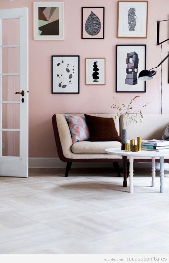 Paredes decorar casa rosa cuarzo, color Pantone 2016 | PANTONE ...