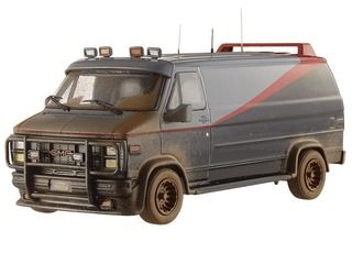 1983 Gmc Vandura Cargo Van G Series The A Team Muddy Version 1