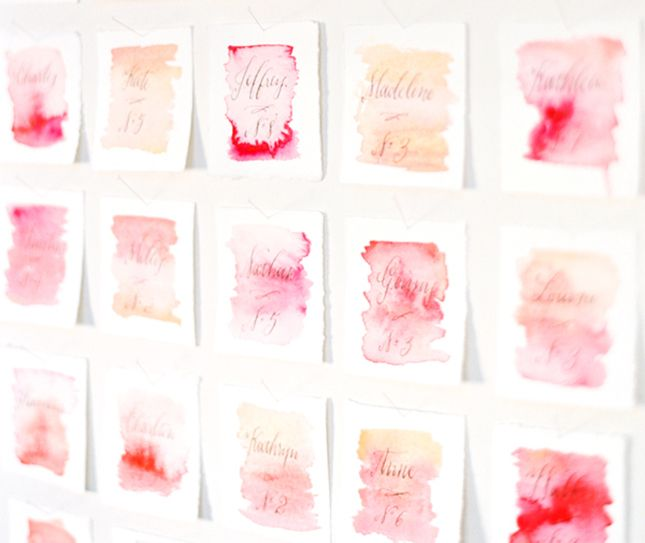 Ideas For Wedding Table Names: Say My Name: 35 Table Card Ideas For Your Next Event