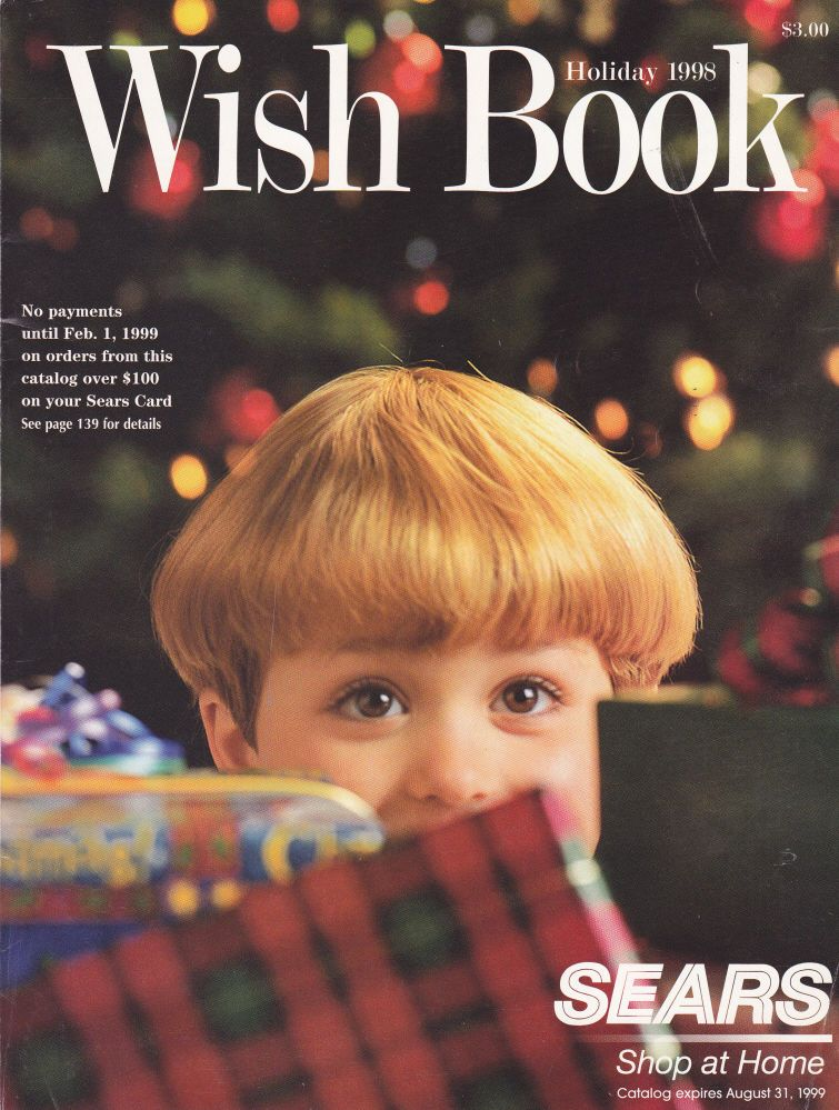 Sears Wish Book Catalog Christmas Holiday 1998 | Wish Book