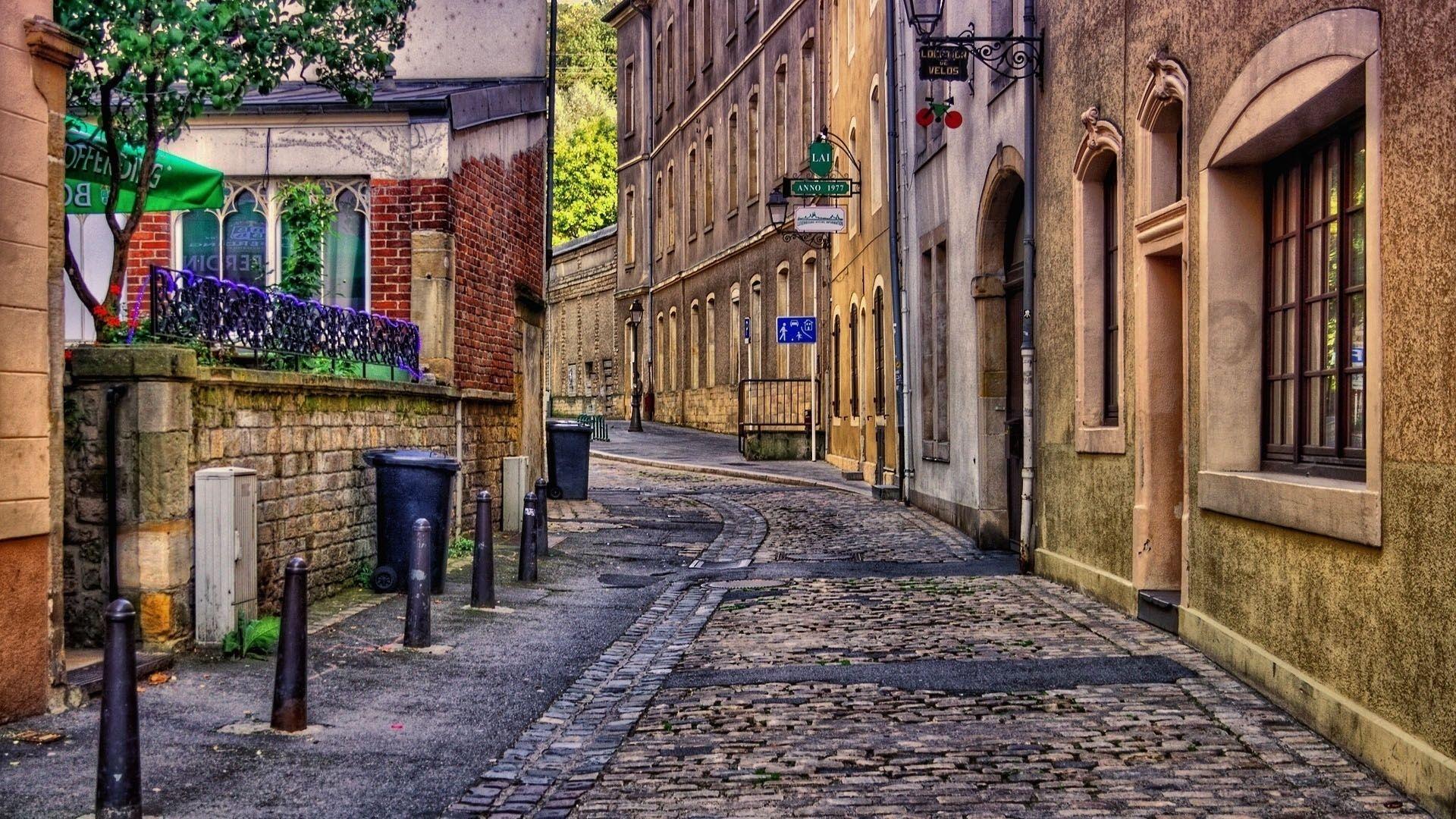 Street World HD Desktop Wallpaper City