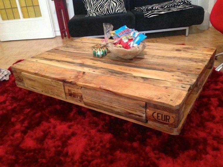 Muebles hechos con palets - 100 ideas para el hogar. | Muebles ...