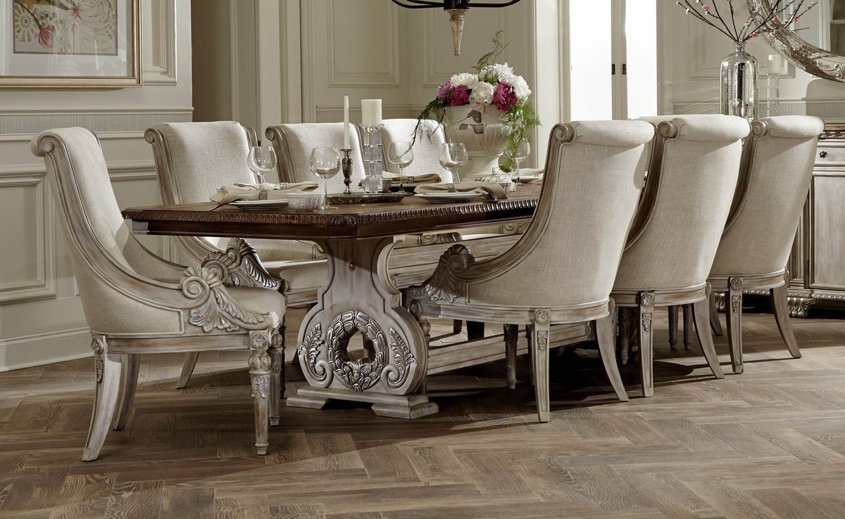 Home elegance orleans ii dining table ww beautiful dining