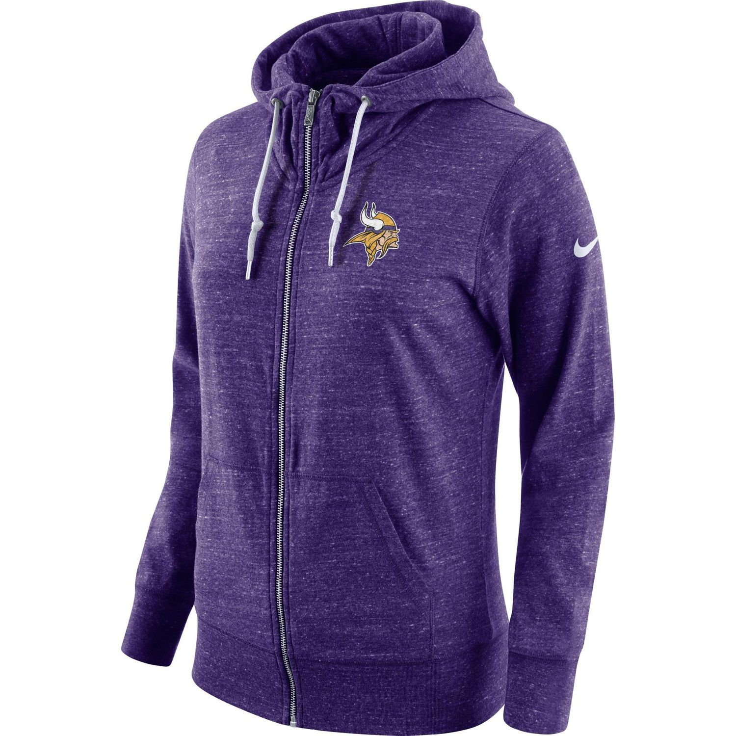 reputable site bb168 88003 Women's Nike Purple Minnesota Vikings Tailgate Vintage Full ...