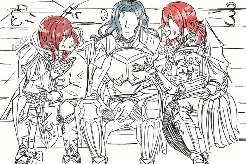 My Old wyvern Team was like FireEmblemHeroes Fire