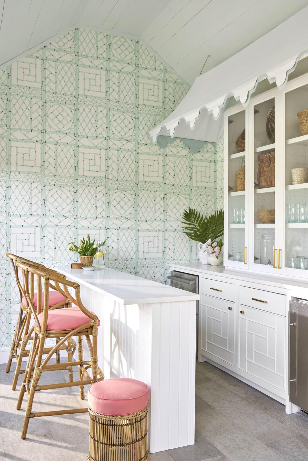 Amagansett Amy Berry Design Pool House Interiors House