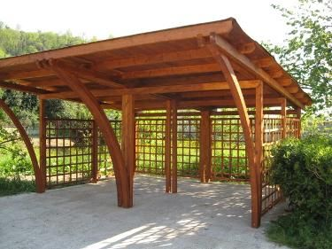Garages And Outbuildings Spain Parking Design Timber Garage Timber Framing