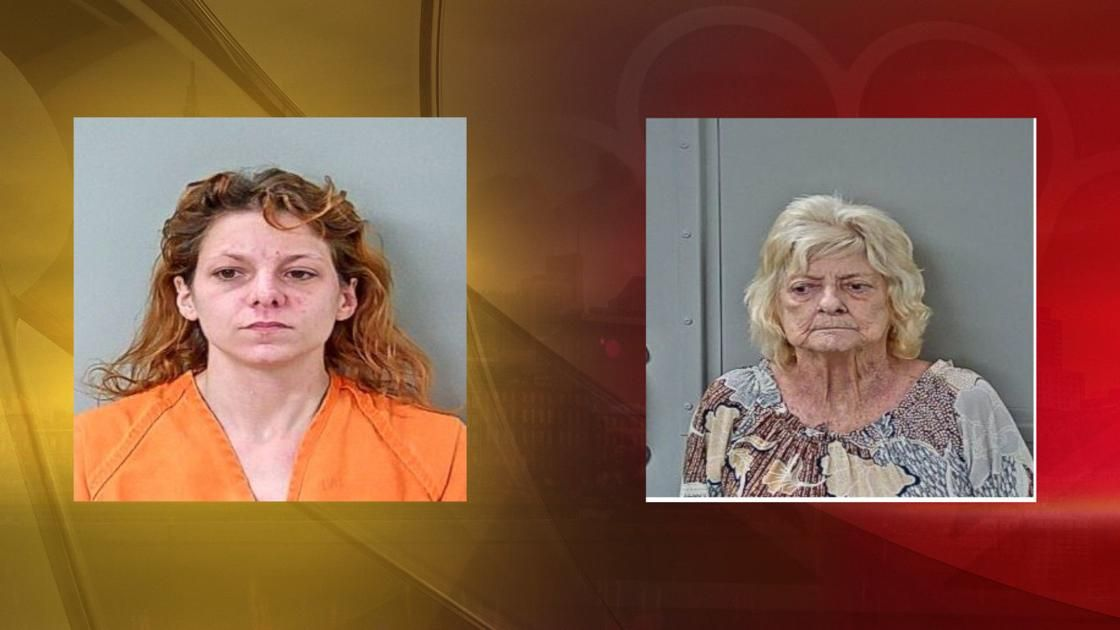 Fire officials arrest woman and her grandmother on arson