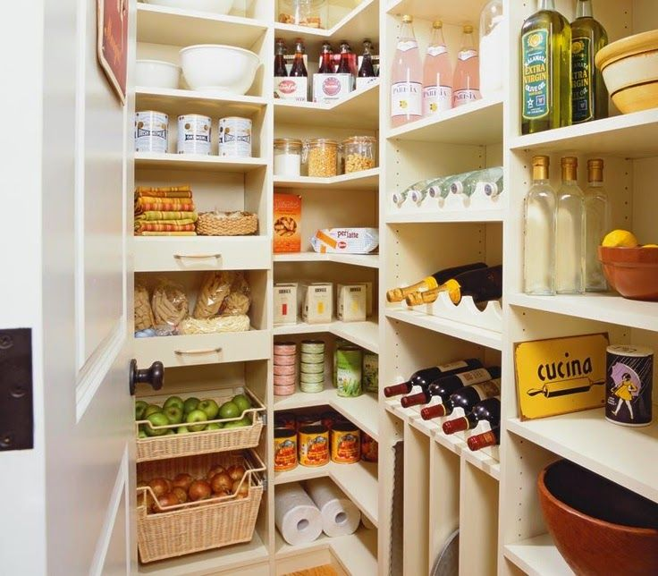 10 garde manger faire r ver maison rangement cellier. Black Bedroom Furniture Sets. Home Design Ideas