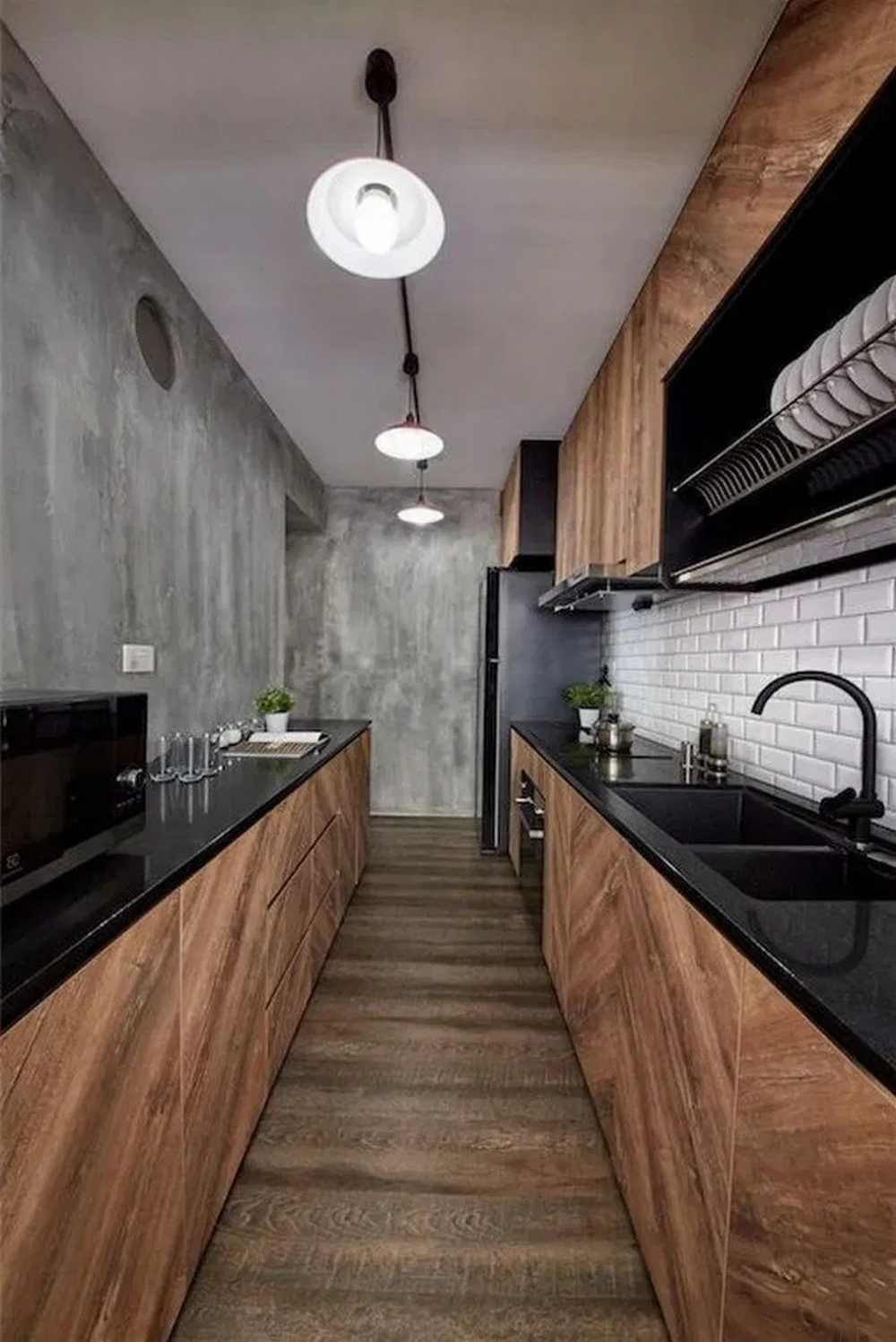 50 Amazing Black Kitchen Design Ideas 2020 16 Irma Blackkitchen Kitchen Kitchendesign Industrial Kitchen Design Modern Kitchen Design Kitchen Room Design