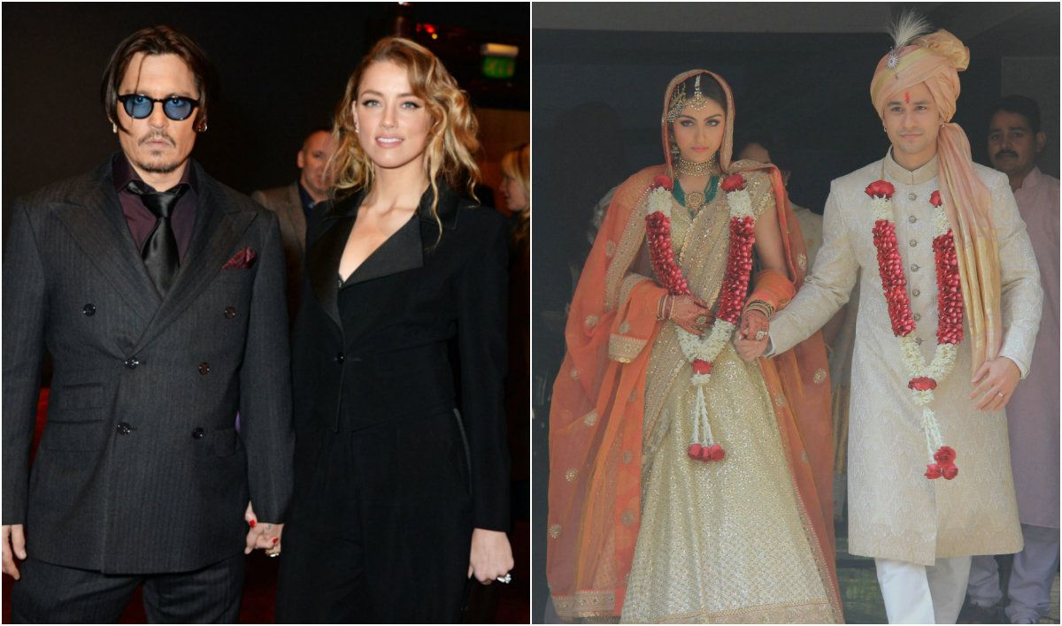 Celebrity weddings and engagements of 2015