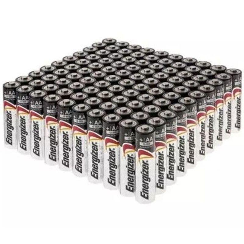 Energizer Max Aa And Aaa Alkaline Batteries 100 Pack Energizer Alkaline Battery Office Gadgets