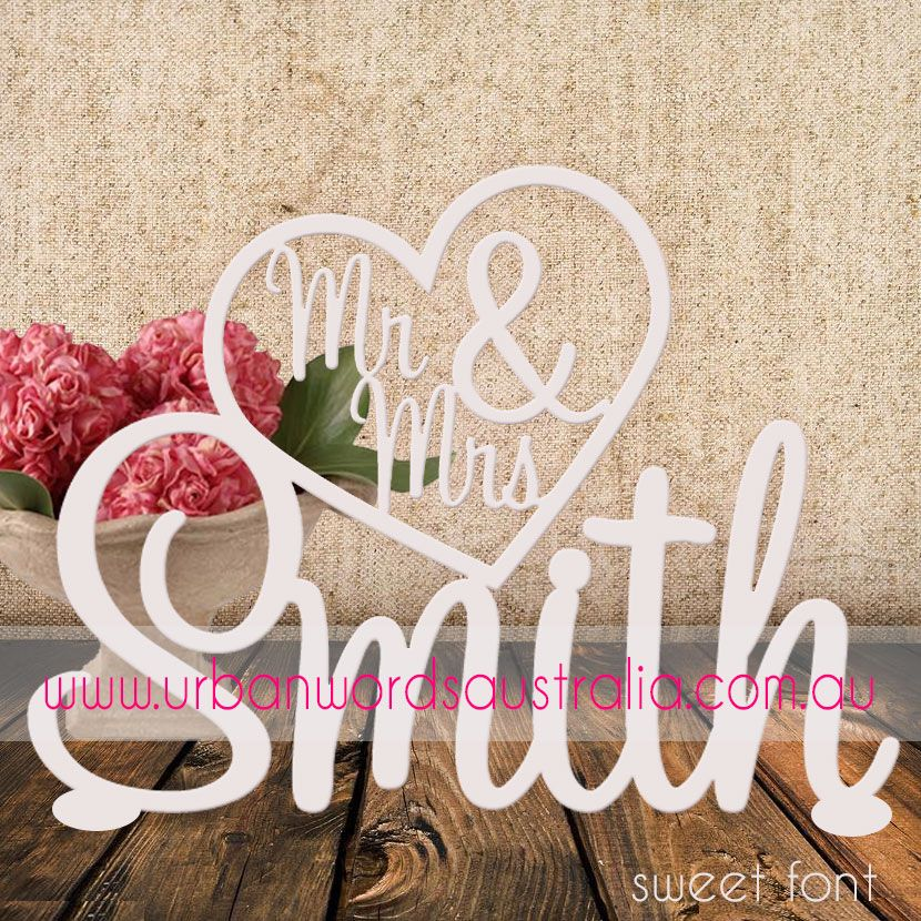 Wooden Names For Wedding Tbrb Info Personalized Free Standing Name Mr And Mrs Table Sign