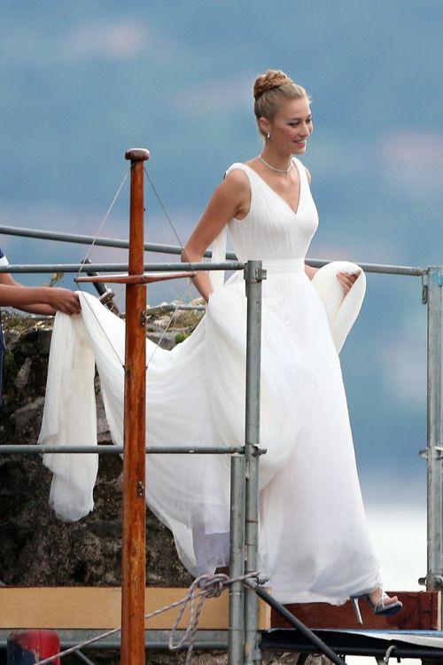 Royal Wedding: Pierre Casiraghi and Beatrice Borromeo in Armani ...