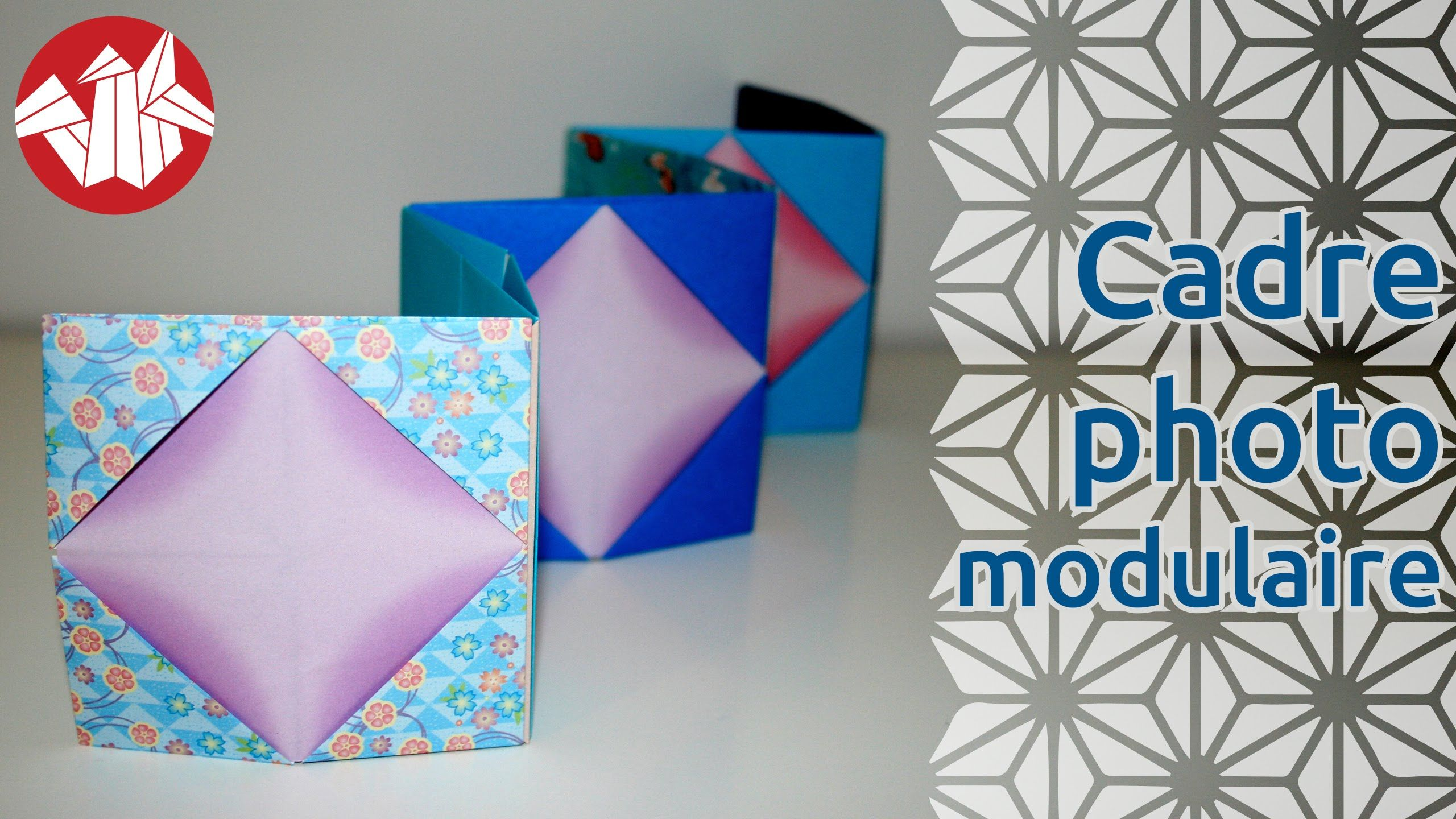Origami Cadre Photo Modulaire De Tomoko Fuse Modular Photo Frame