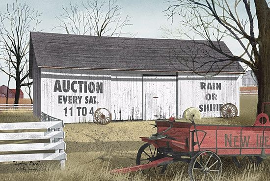 Auction Barn By Artist Billy Jacobs Country Living