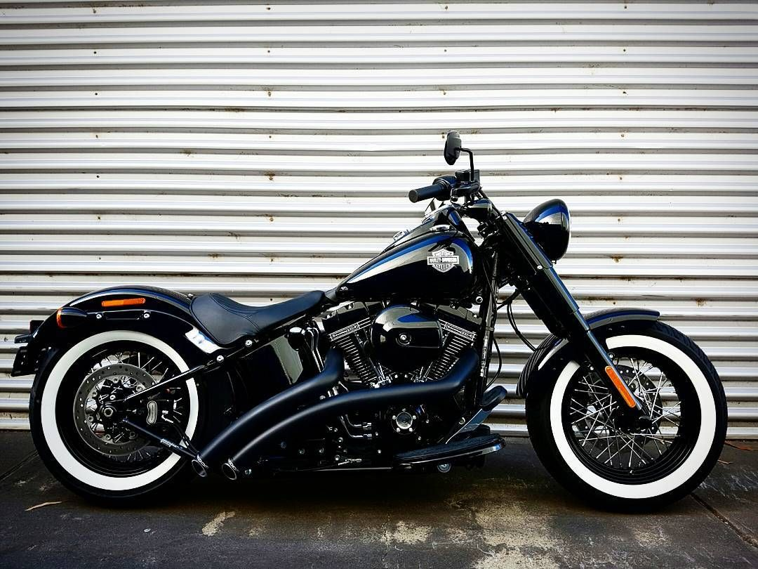 Live your legend with this very cool Softail Slim S from