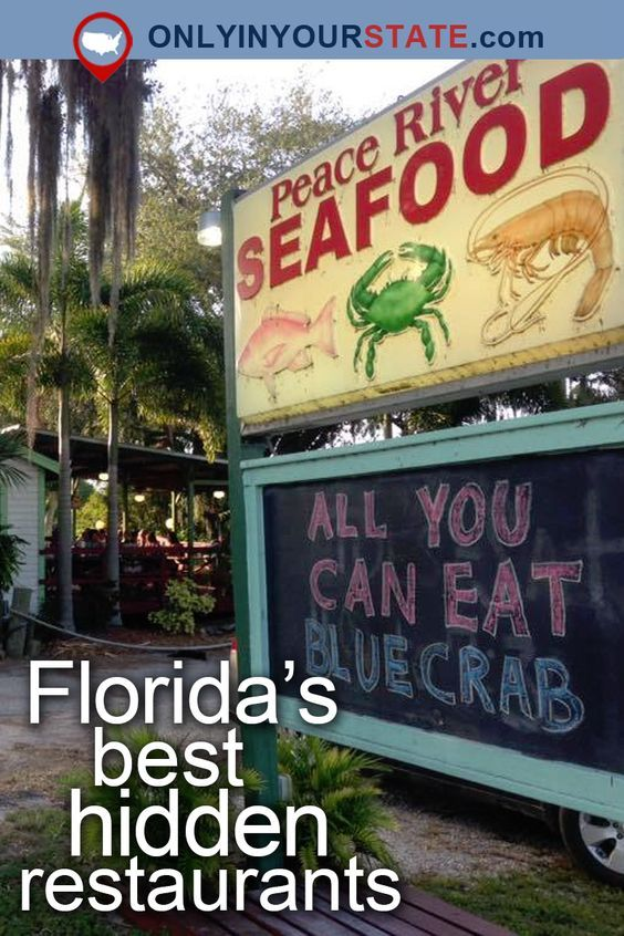 Travel Off The Beaten Path To These 8 Little Known Restaurants In Florida Visit Florida Florida Attractions Florida Restaurants