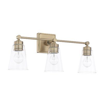 Superieur Off Aged Brass Three Light Bath Vanity By Capital Lighting Fixture Company.  @ Mounts With Lights Up Or Down.