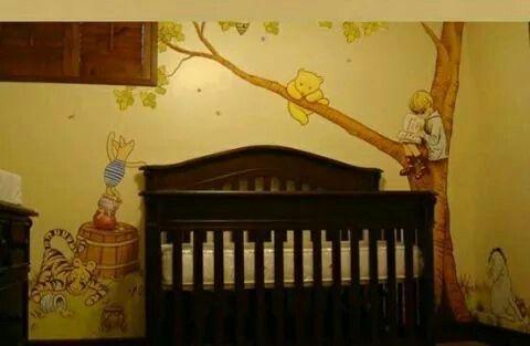 Like The Old Fashioned Feel Winnie The Pooh Nursery