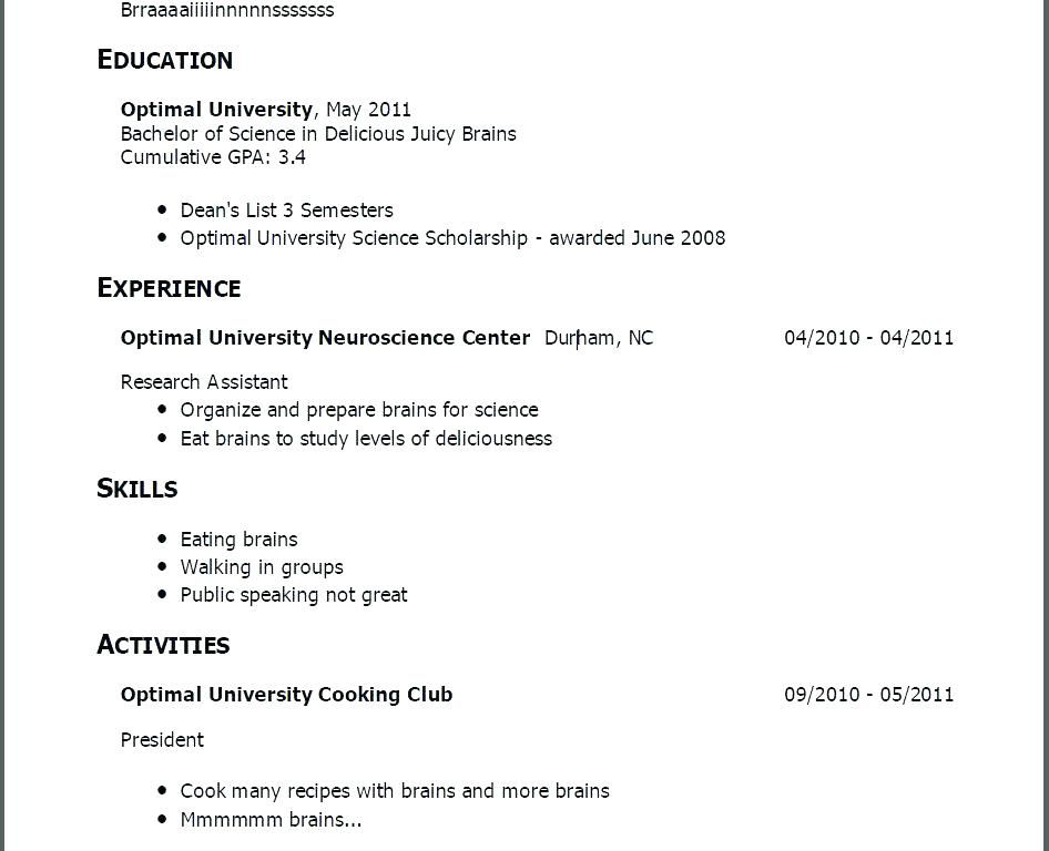 resume examples with no job experience  resumeexamples