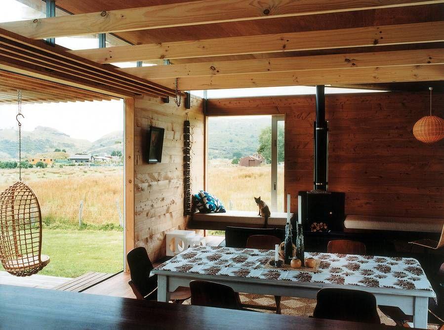 Aotea Bach by Herbst Architects Pergola carport