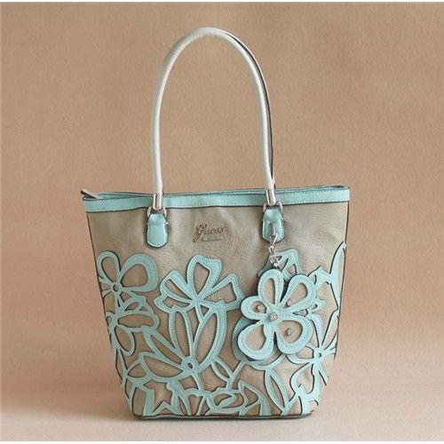 Guess Floren Sweet Flower Handbag Bucket Bag New Arrival Guess