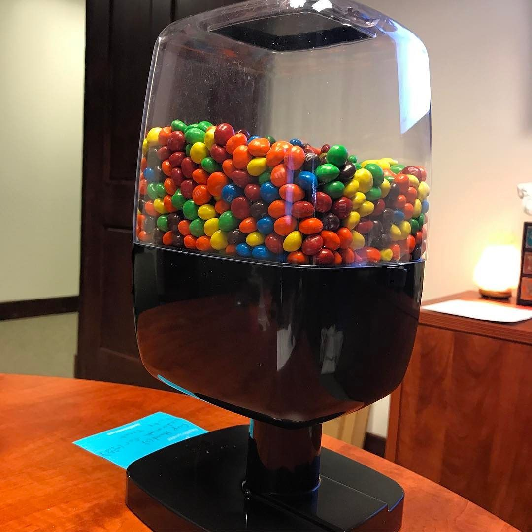 Offices Gestalt Moment Put A Hands Free Candy Dispenser On Your Desk And More People Will