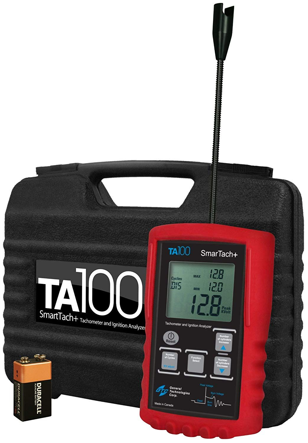 general technologies corp gtc ta100 smartach wireless ignition analyzer and tachometer read more at the image link this is an affiliate link  [ 1043 x 1500 Pixel ]