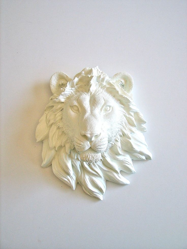 Image result for lion head wall mount Faux animal head