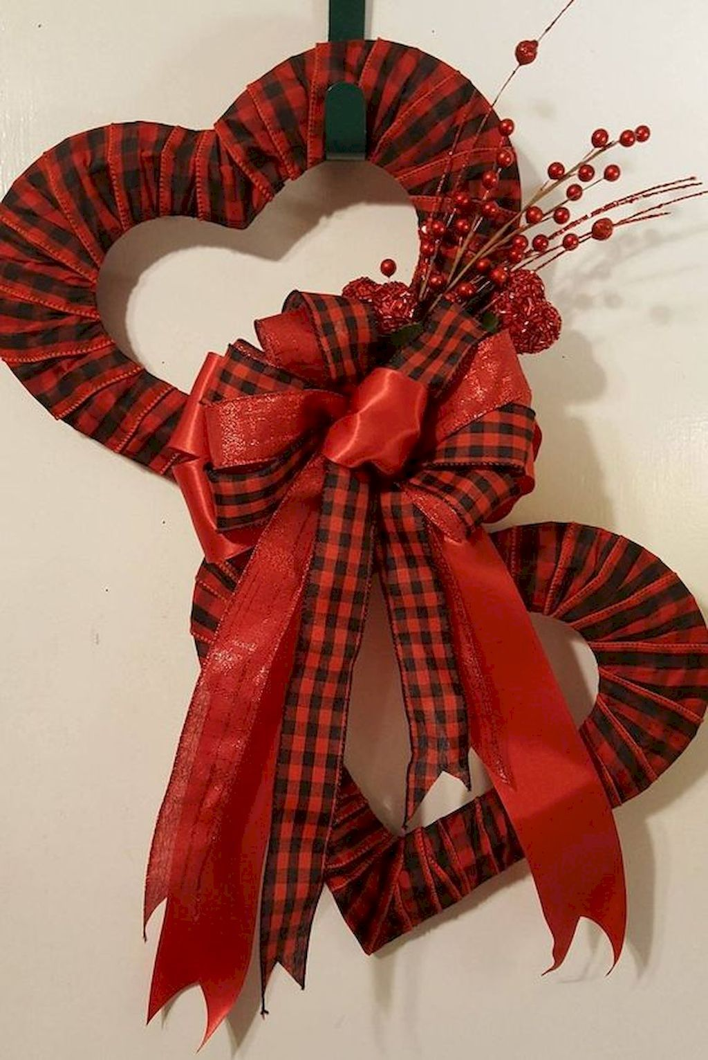 Photo of 55 Lovely DIY Valentine's Day Wreath Ideas