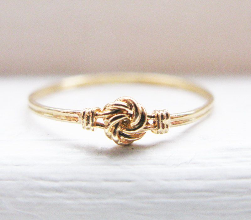 Antique Swedish Infinity Knot Wedding Ring by RosenrosettAntiques