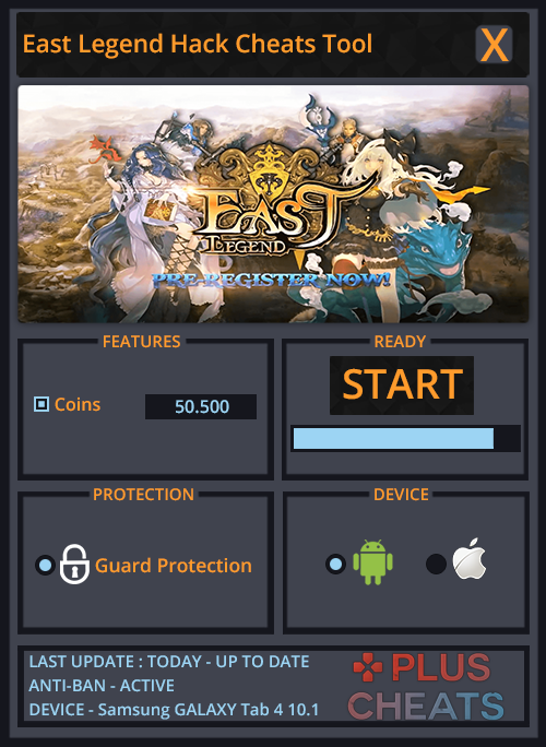 HOW TO USE OUR EAST LEGEND HACK Download the East