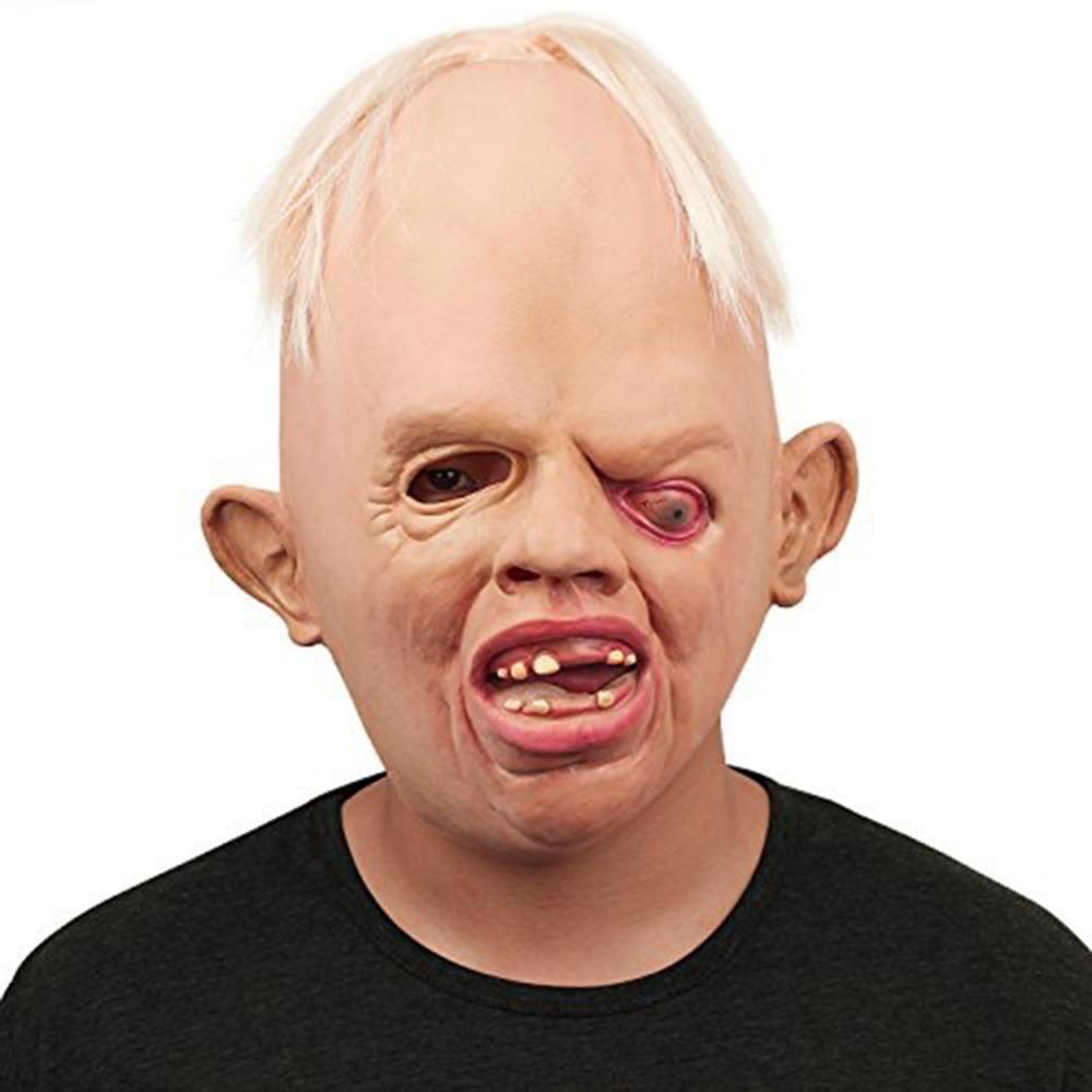 Face Masks Halloween Masquerade Festival Horror Scary Latex Realistic Costume