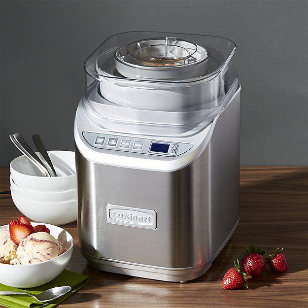Amazon Offers Cuisinart Ice 70 Electronic Ice Cream Maker For 95 17 Cuisinart Ice Cream Ice Cream Maker Cuisinart Ice Cream Maker