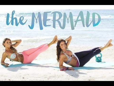 BIKINI SERIES ☀ Total Body Mermaid Workout - YouTube
