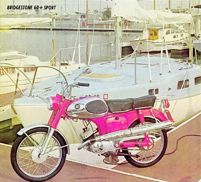 Bridgestone 60 Sport Bridgestone 60 Sport Introduced In 1966 The Bridgestone 60 Sport Should Have Been Named Longevity Wit Bridgestone Classic Bikes Old Bikes