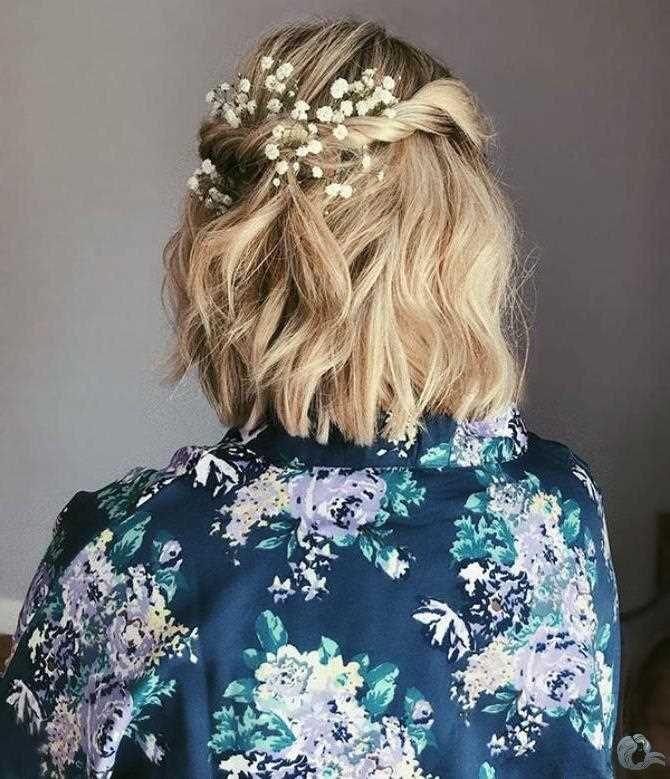 35+ Wedding Hairstyles for Short Hair #shortbridalhairstyles