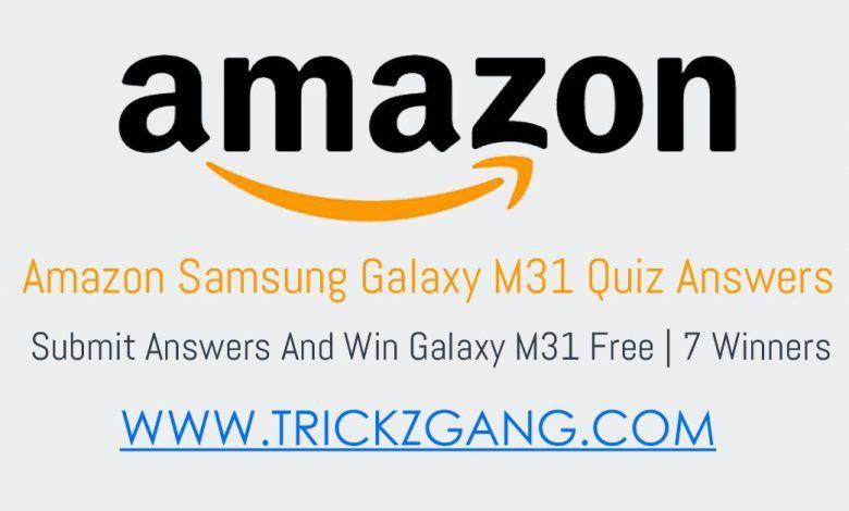 Amazon Samsung Galaxy M31 Quiz Answers 8211 Win Galaxy M31 7 Winners World Earth Day Quiz Earth Day Quiz