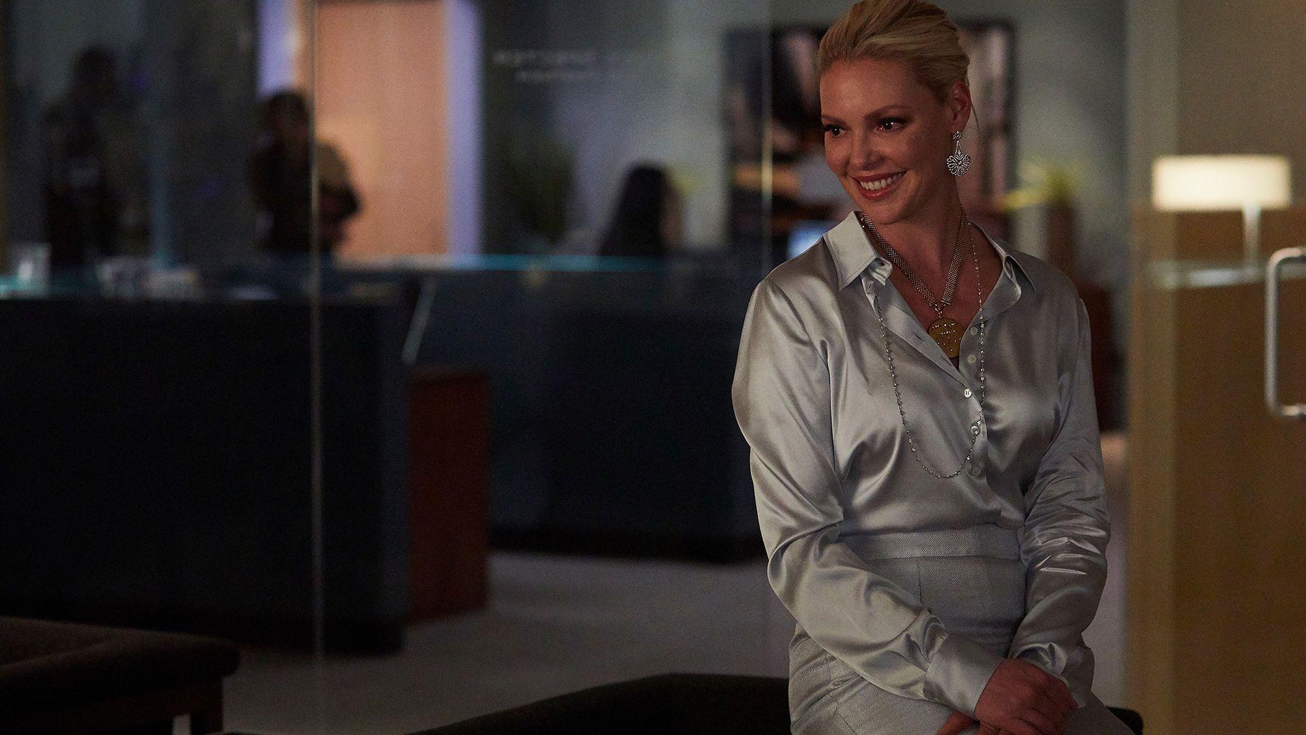 Katherine Heigl stars as Samantha Wheeler in Suits season 8, episode