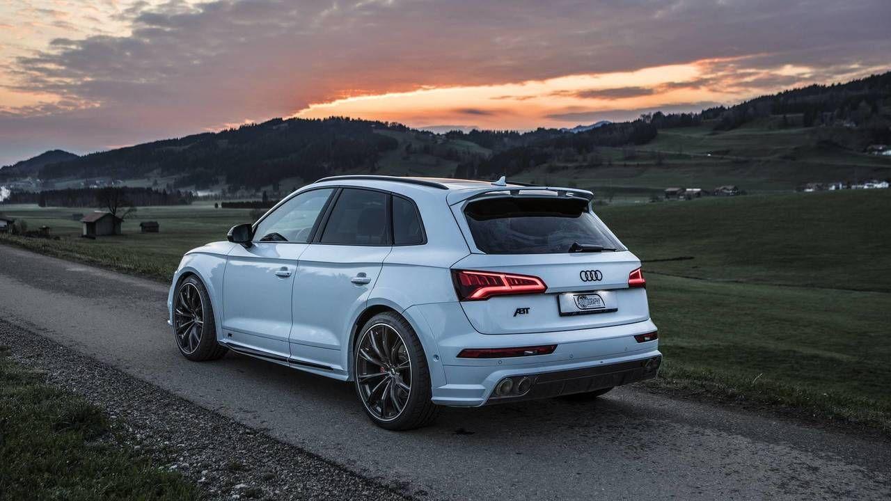 Audi Sq5 Glacier White Metallic By Abt Audi Audi Rsq3 Sq5
