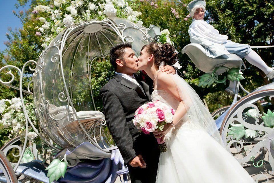 Disney Wedding  www.fairytalehairmakeupblog.com