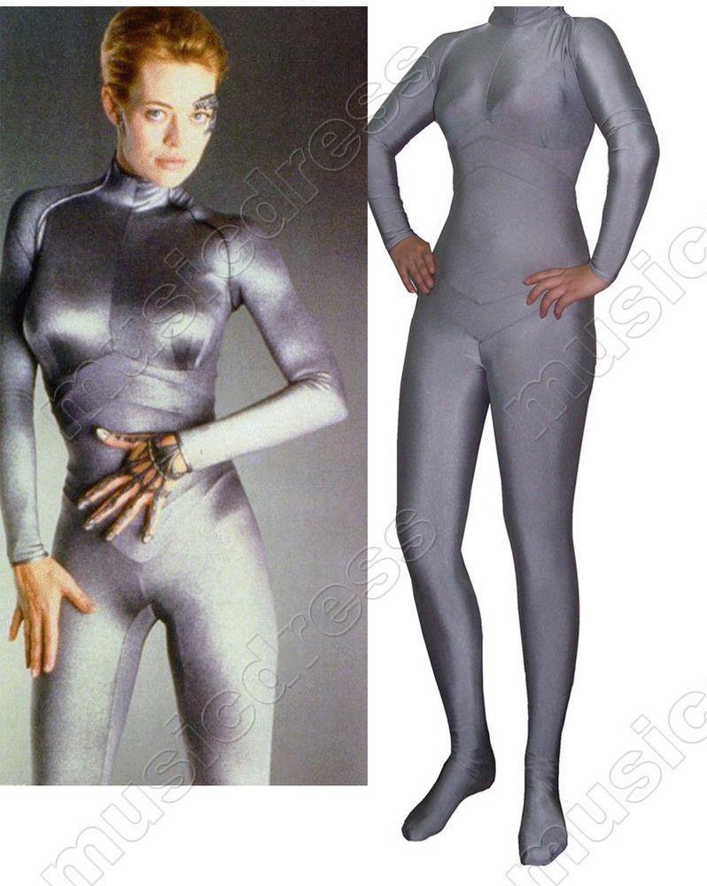 Seven of nine star trek cosplay costume | Star trek cosplay, Star ...