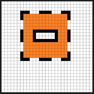 Super Mario Item Block Coin Bank Sprites Kit Perler Bead Project Pixel Art Shop Perler Beads Perler Perler Bead Templates